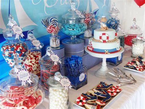 Nautical Candy Bar  Baby Boy Showers Pinterest