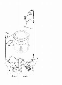 29 Kenmore Elite Oasis Washer Parts Diagram