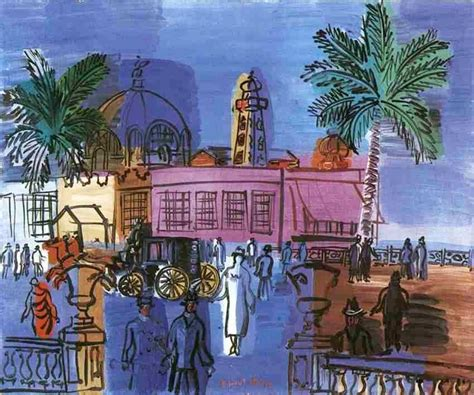 dufy raoul nice casino fauvism artist raul promenade paintings 1953 painting riviera french belles choses 1877 le anglais des pintor