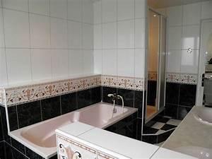 salle de bain avec douchebaignoire wc et deux vasques With salle de bain avec douche et baignoire