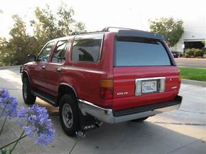 Buy Used 1990 Toyota 4runner Sr5 4wd 3 0l 4x4  5 Speed Manual Trans  1owner  Only 155k  In San