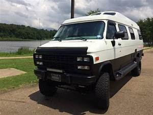 Used Rvs 4x4 Camper Van  1995 Chevy Roadtrek 210 Popular