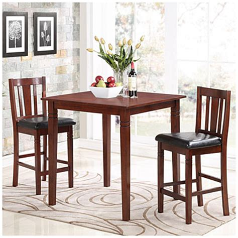 Big Lots Kitchen Table Sets by 3 Square Pub Dining Set Big Lots