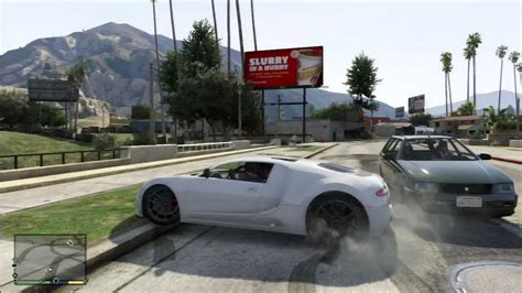 All the people who said spoiler automatic not work with them, i not support old pirate version, so please update your gta to latest version before say spoiler not work thanks. GTA 5 Bugatti Veyron Location / Ubicación - YouTube