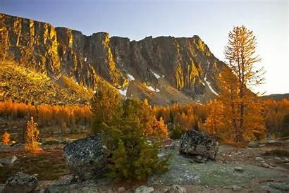 Fall Mountain Wilderness Desktop Background Wallpapers Pasayten