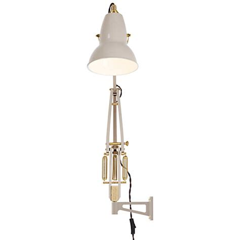 buy anglepoise original 1227 brass wall mounted lewis