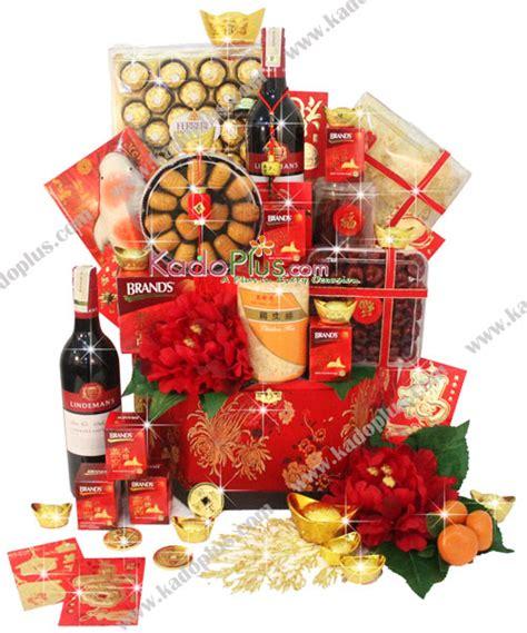 chinese  year hamper bountiful wealth toko bunga