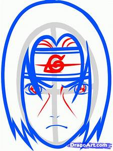 How to Draw Itachi Easy, Step by Step, Naruto Characters ...