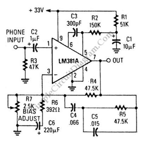 Magnetic Phono Preamp Has Ultra Low Noise Figure Simple