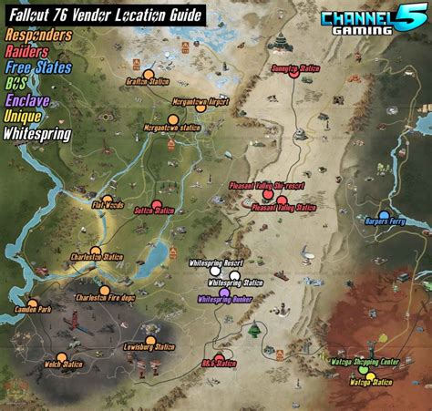 fallout  guide vendors list locations falloutbuildscom