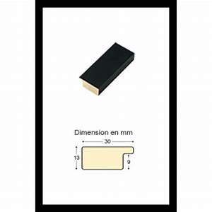 Cadre 70 X 100 : cadre en bois noir 70 x 100 cm achat vente cadre ~ Dailycaller-alerts.com Idées de Décoration