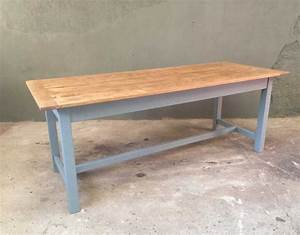 Table En Bois Massif Ancienne : ancienne table de ferme ~ Teatrodelosmanantiales.com Idées de Décoration