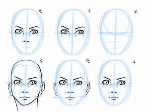 How To Draw A Female Face Step By Step For Beginners ...