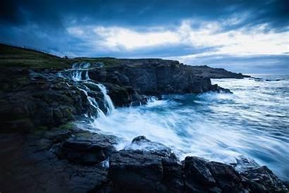 Coastal Scenes Capture Impact Ways