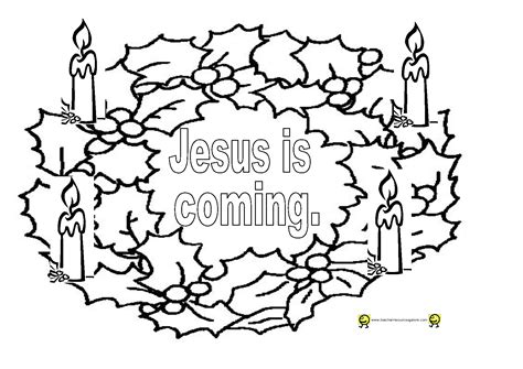 advent  coloring pages coloring home