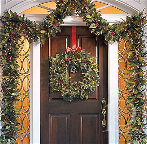 garland around front door copeman 187 s posh picks garlands 3736