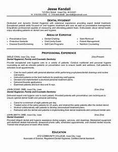 Dental hygienist resume for Dentist resume