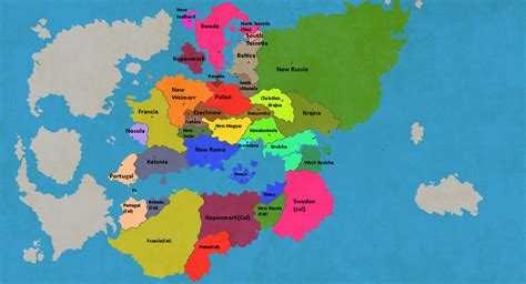 Keplearth A New World(map Game)  Thefutureofeuropes Wiki  Fandom Powered By Wikia