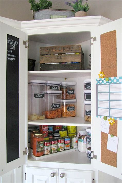 pantry organization tips clean  scentsible
