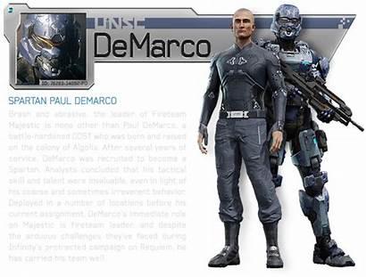 Halo Spartan Ops Majestic Demarco Fireteam Armour
