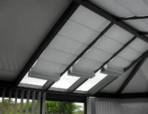 Store Anti Chaleur Pour Veranda : store v randa anti chaleur oasis trisolis pour les toitures ~ Melissatoandfro.com Idées de Décoration
