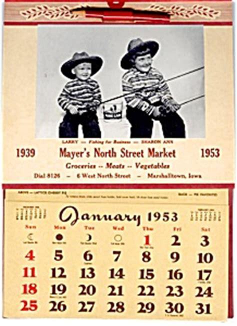 calendar kids fishing rath lard tin calendars