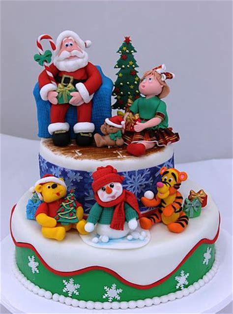 bolos decorados   natal