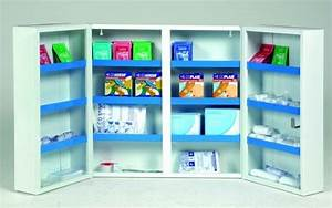 Armoire à Pharmacie Murale : acheter armoire pharmacie murale entreprise 2 portes ~ Dailycaller-alerts.com Idées de Décoration