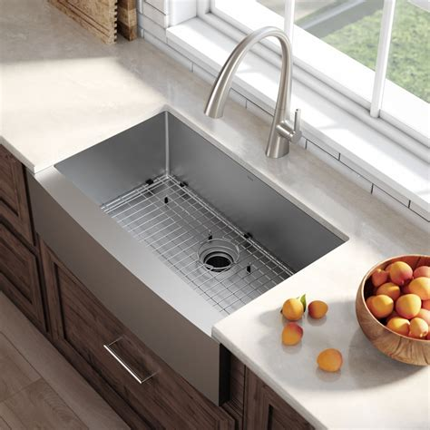 36 inch kitchen sink stainless steel kitchen sinks kraususa 3882