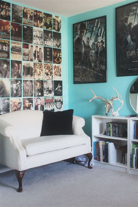 decorating room with posters if teenagers need to hang poster on their walls frame them