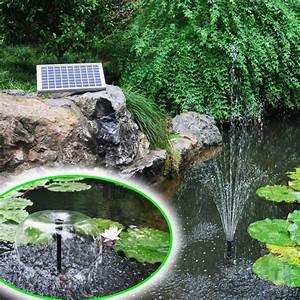 Solar Springbrunnen Garten : 10 watt solar springbrunnen teich pumpe led akku garten ~ A.2002-acura-tl-radio.info Haus und Dekorationen