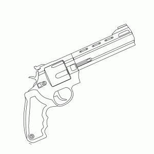 Leuk Voor Kids Geweren En Pistolen Kleurplaten