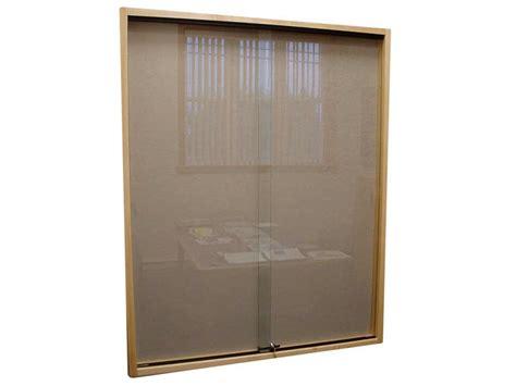 sliding wall hardware wall display case sliding glass