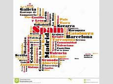 Abstract Vector Map Of Spain Stock Images Image 18440514