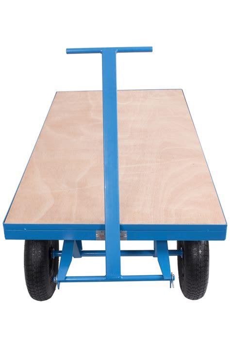 site trolley heavy duty  tonne capacity pneumatic tyres