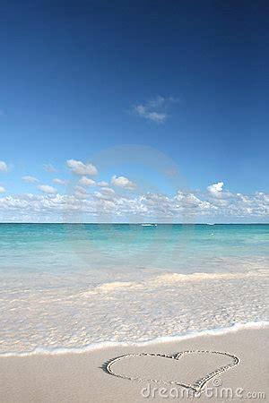 loveheart  sand beach tropical ocean royalty