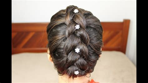 tranca embutida invertida em cabelo curto penteados youtube
