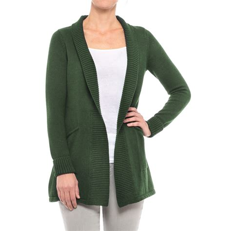 sweater for tahari ribbed open cardigan sweater for save 30