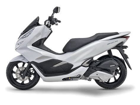 Pcx 2018 White by Scooter Honda Pcx 125 Moto