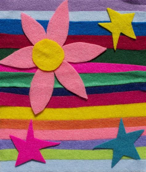 felt paper scraps of felt material or colored paper into art my art to inspire