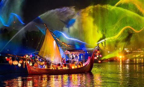 disney world light show review quot rivers of light quot successfully adds artistry as
