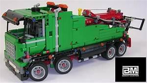 Lego Technic Camion : 42008 lego technic le camion de service speed build youtube ~ Nature-et-papiers.com Idées de Décoration