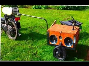 Anhänger Bordwand Selber Bauen : musik anh nger f r fahrrad mofa roller bauen 550watt 12 volt erster test 3facher bass lv youtube ~ Yasmunasinghe.com Haus und Dekorationen