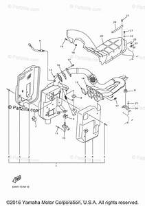 Yamaha Snowmobile 2014 Oem Parts Diagram For Exhaust