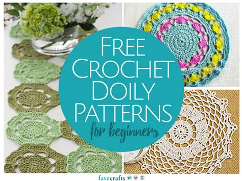 crochet doily patterns  beginners favecraftscom
