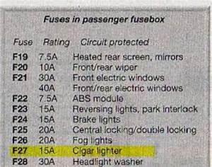 We U0026 39 Re Fuse For Ford Ka Street Car For Cigarette Lighter