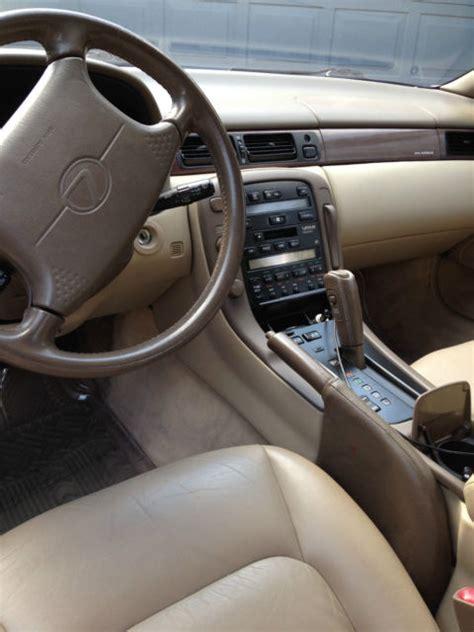 lexus sc gold  tan leather interior