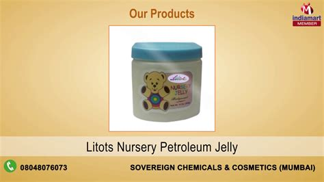 Petroleum, Pharmaceutical & Cosmetic Products By Sovereign