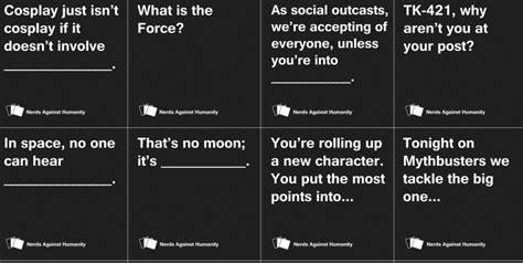 cards  humanity deck   nerdier