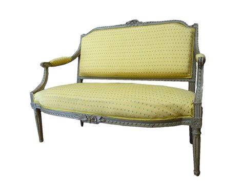 canapé louis 16 canapé d 39 enfant d 39 époque louis xvi xviiie siècle n 60715